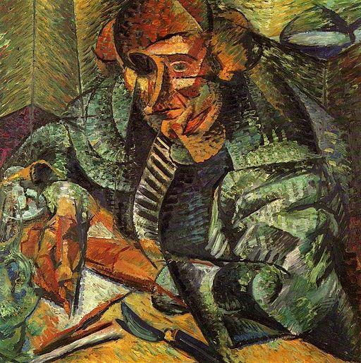 L'antigrazioso by Umberto Boccioni, 1912