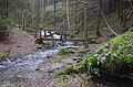 Lávky pro turisty přes Libchyňský potok - panoramio.jpg