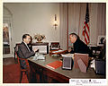 LBJ with Edward R. Murrow Dec 1963.jpg