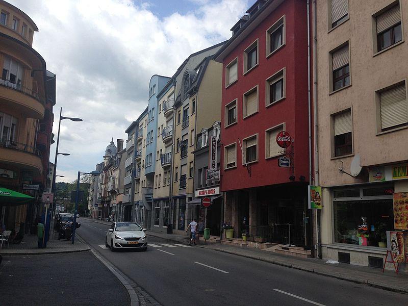 Rue Prince Henri in Ettelbrück, Luxemburg