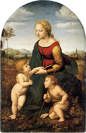 Image illustrative de l'article La Belle Jardinière (Raphaël)