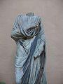La Palletera, estàtua romana d'un magistrat amb toga, Col·legi del Patriarca, València.JPG