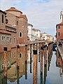 La canal de la Vena à Chioggia (Lagune de Venise) (8089360437).jpg