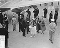 Laatste dag staatsbezoek Franse president Coty aan Nederland. Vertrek en afschei, Bestanddeelnr 906-6211.jpg