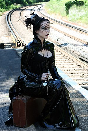 Gothic Model Lady Amaranth wearing Nightshade ...