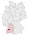 Lage des Landkreises Freudenstadt in Deutschland.png