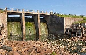 Kittson County, Minnesota - Image: Lake Bronson Dam