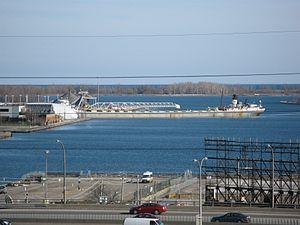 Lake freighter Mississagi in the Eastern Gap -h.jpg