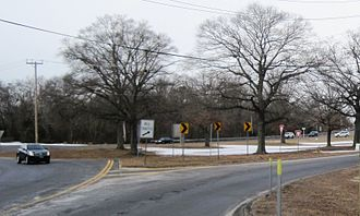 New Jersey Route 37 - Route 37 ending at Route 70 at the Lakehurst Circle