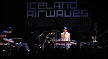 Lali Puna performing live at Iceland Airwaves