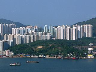 Lam Tin Area in Kowloon, Hong Kong