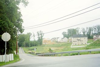 Ilchester, Maryland - Housing development in Ilchester, 2011