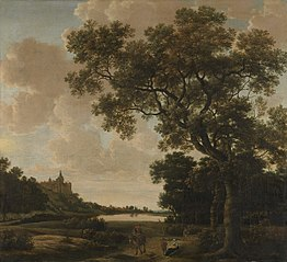 Landscape with the Schwanenturm, Kleve