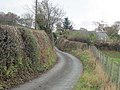 Lane up from Lower Hall Farm - geograph.org.uk - 1572878.jpg