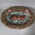 Large 22.4ins Luneville majolica marine platter c 1880.jpg
