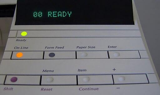 LaserJet 4 Control Panel