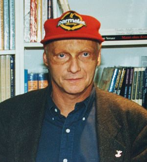 Lauda Air Flight 004 - Niki Lauda (pictured here in 1996) traveled to Thailand to personally investigate the crash