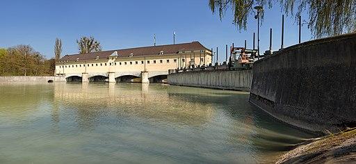 Laufwasserkraftwerk Oberföhring Isarwerk 3
