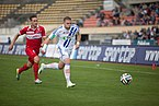 Lausanne Sport vs FC Sion - Avril 2014 - Vincent Rüfli & Yoric Ravet.jpg