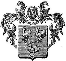 Lazare-296-Hugues Le Coq-coat of arms.jpg