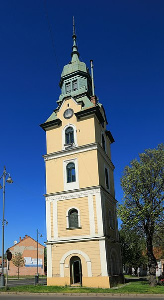 Szécsény - The Firetower, the leaning tower of the town