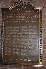Leavenworthplaque