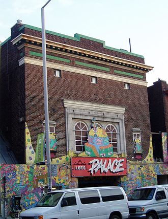 Will Munro - Lee's Palace, the location of Munro's monthly Vazaleen parties from 2001–06