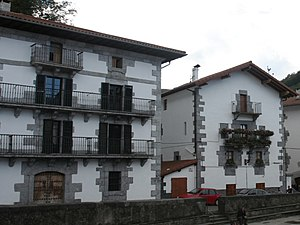 Ignacio Baleztena Ascárate - Baleztena houses, Leitza