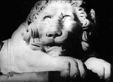 Il leone che si risveglia, simbolo del popolo che si ribella