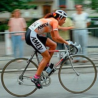 Leontien van Moorsel Dutch racing cyclist