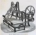 """Les merveilles de l'industrie, 1873 """"Marguerite mécanique, ou rebrousseuse mécanique"""". (4727235726).jpg"""