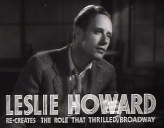 The Petrified Forest - Image: Leslie Howard in The Petrified Forest film trailer 2