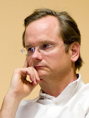 3:4 Portrait crop featuring Lawrence Lessig