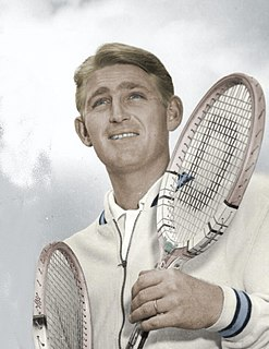 Lew Hoad Australian tennis player