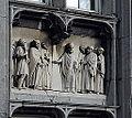 Liège, Palais Provincial, Saint Monulphe prédisant la prospérité de la ville de Liège (Mathieu de Tombay).JPG