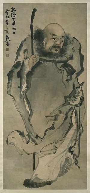 Li Tieguai - Huang Shen's painting of Li Tieguai, 1757