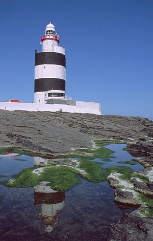 Hook Head - Hook Lighthouse at Hook Head, County Wexford, Ireland