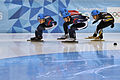 Lillehammer 2016 - Short track 1000m - Men Semifinals - Daeheon Hwang, Shaoang Liu, Kazuki Yoshinaga and Kyunghwan Hong.jpg