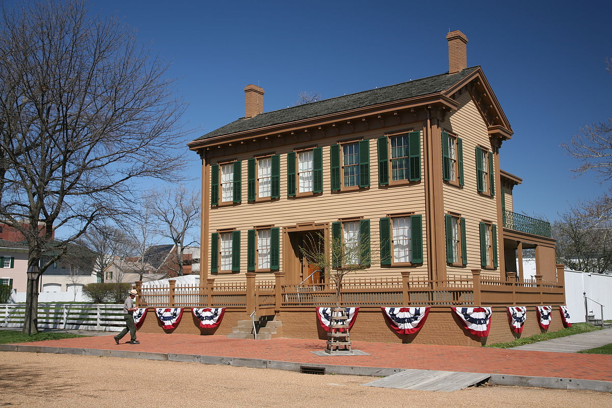 Lincoln home national historic site wikipedia for Www homee