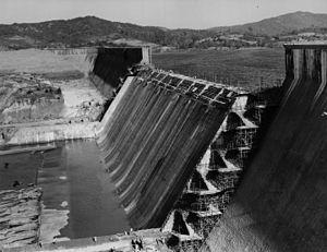 Sharavati - The Linganamakki dam across Sharavati