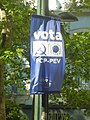 Lisbon, street scenes from the capital of Portugal 36. Communist, Greens Party poster in Lisbon in 2019.jpg