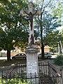 Listed wayside crucifix (1905), Rakoczi Street, 2016 Szekszard.jpg