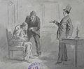 Lix F.T. - Wash, Ink - L'interrogatoire (Illustration) - 13.2x17cm.jpg
