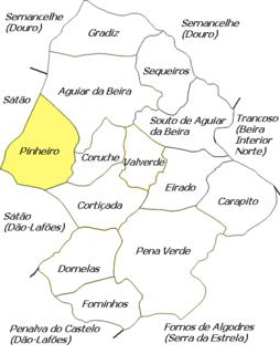 Pinheiro (Aguiar da Beira) Civil parish in Centro, Portugal