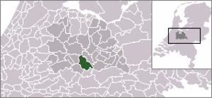 Schalkwijk, Utrecht - Image: Locatie Houten