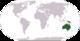 Lokasi Australia di peta dunia