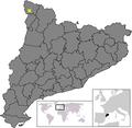 Location of Vielha e Mijaran.png