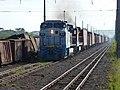Locomotiva de comboio que passava sentido Guaianã pelo pátio da Estação Pimenta em Indaiatuba - Variante Boa Vista-Guaianã km 217 - panoramio (4).jpg
