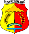 Official seal of Solok
