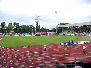 TV Wattenscheid - The club is based at Lohrheidestadion